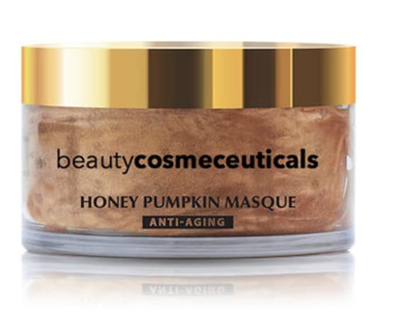 Fall into autumn with this honey pumpkin face mask
