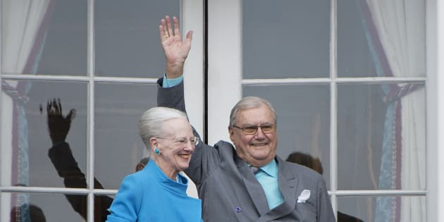 Le prince Henrik du Danemark, époux de la reine Margrethe.