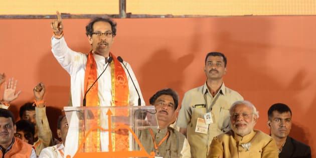 File photo of Uddhav Thackeray and Narendra Modi.