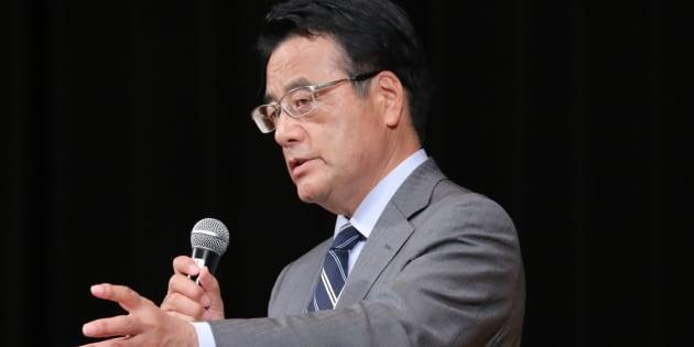 岡田克也氏(2017年10月13日)