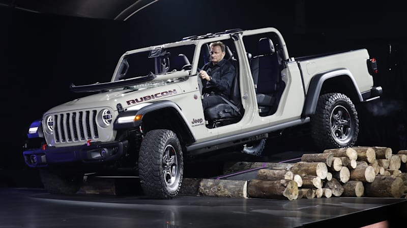 Jeep Gladiator Pickup We Talk Design With Jeep S North America Boss
