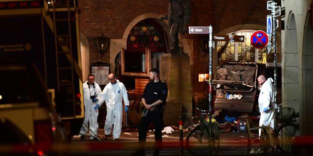 La police perplexe face au profil mystérieux de l'auteur de l'attaque à Münster