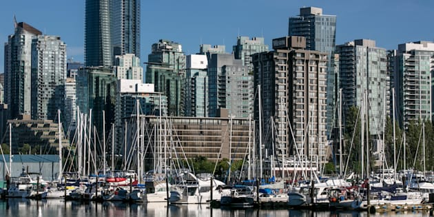 Condo towers and apartment buildings in Vancouver's Coal Harbour. The province's new government is reviewing the year-old foreign buyer tax, as well as other housing measures put in place by the previous Liberal government.