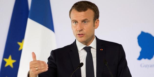 Le livre qui dit tout haut ce qu'Emmanuel Macron se dit tout bas.