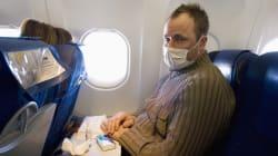 Si votre voisin d'avion a la grippe, vous avez 80% de chance de