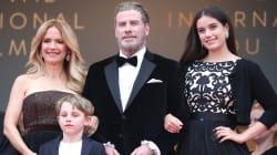John Travolta a amené toute sa famille pour la montée des