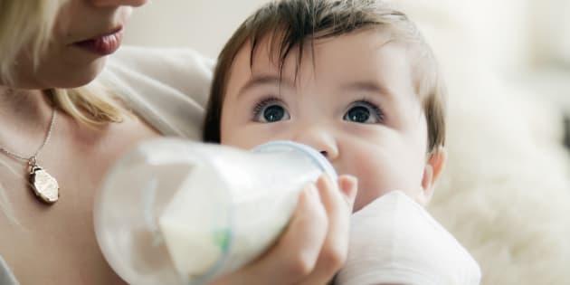 6 raisons pour lesquelles je n'allaite pas mon bébé.