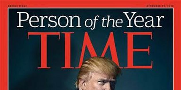 Donald Trump Time Person Of The Year 2016