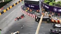 Les images terrifiantes d'un accident de Formule 3 à