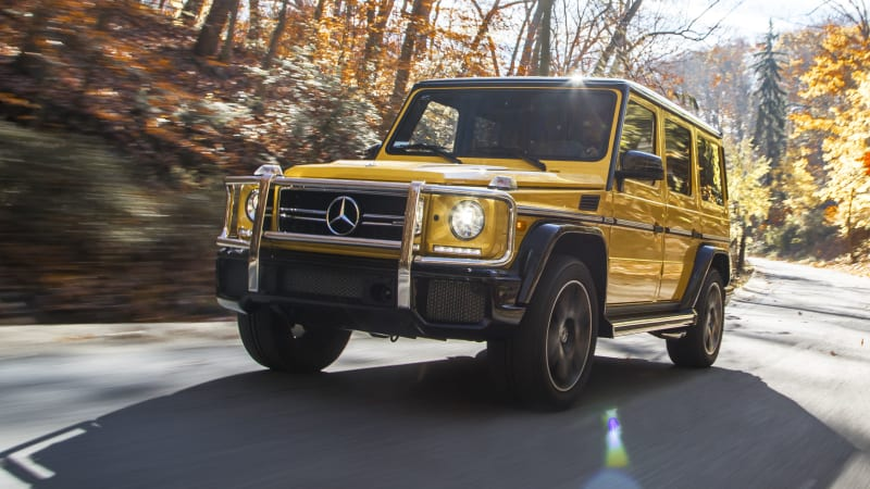 2018 Mercedes-AMG G63 Drivers' Notes Quick Spin Review | Autoblog
