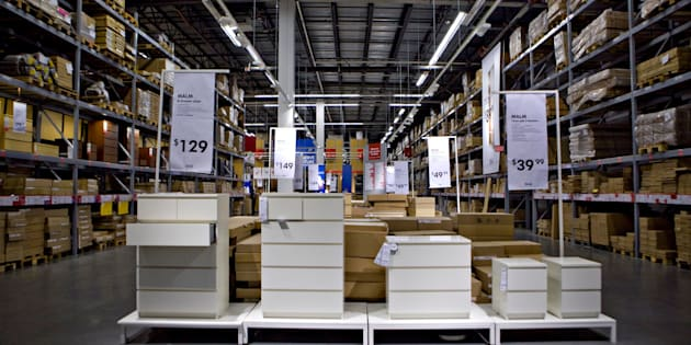 UNITED STATES - JULY 22:  Dressers sit on display inside an Ikea store in the Red Hook neighborhood of Brooklyn, New York, U.S., on Wednesday, July 22, 2009. Ikea is the world's largest home-furnishings retailer.  (Photo by Daniel Acker/Bloomberg via Getty Images)