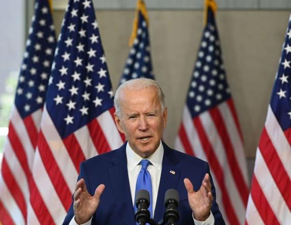 Biden campaign jumps on Trump tax-return story
