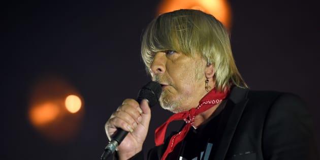Renaud sur scène au Printemps de Bourges en avril 2017