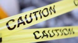 傷害容疑の少年が逃走中、小学校に一時逃げ込む