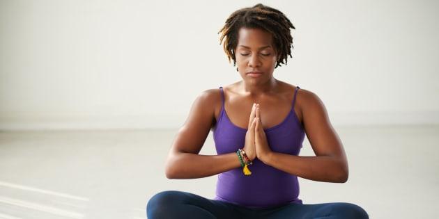 Meditar ajuda a tratar pessoas com depressão.