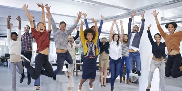 How great would it be for all your small business staff to turn up to work feeling like this each day?