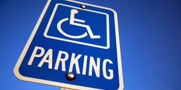 """Next time you see someone parkingin a disabled space that looks """"well"""", how will you respond?"""