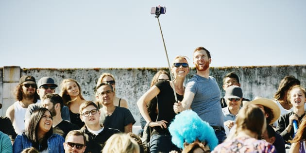 Selfies are hilarious.