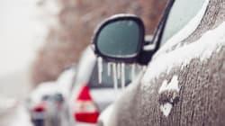 Manitoban Casually Skates Down Highway After Freezing Rain