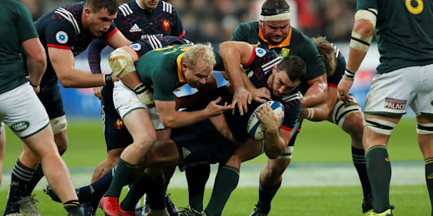Face à l'Afrique du Sud, le XV de France encaisse sa 6e défaite d'affilée