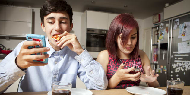 If you can't get through a meal without checking your phone, you might need to log off.