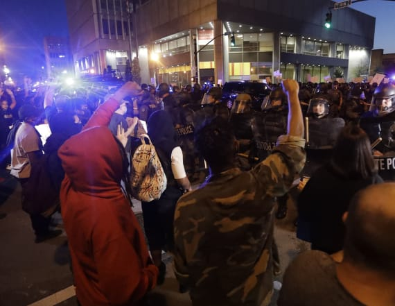 Police apologize for targeting news crew at protest