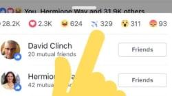 Certains utilisateurs peuvent désormais réagir sur Facebook avec l'emoji