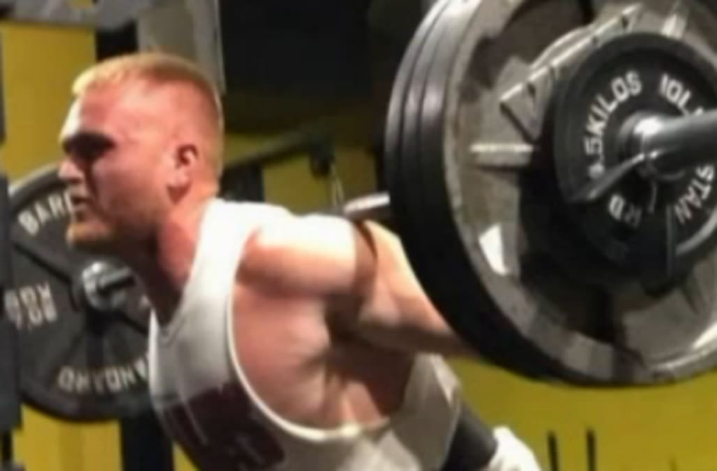 Year old man dies in freak weight lifting accident