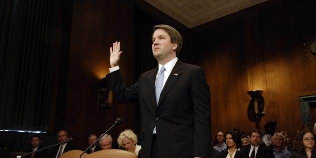 Le juge conservateur Brett Kavanaugh en mai 2018.