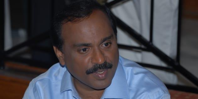 G Janardhan Reddy in a file photo.