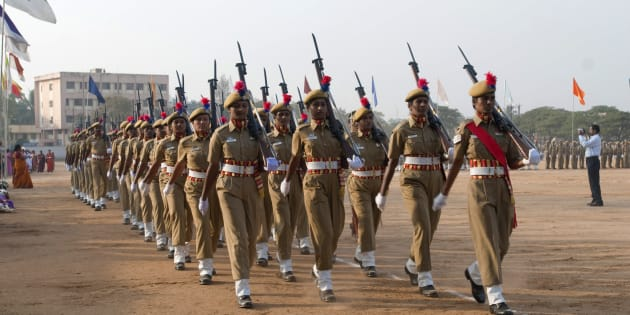 [Representational image] File photo of women police parade on republic day at Coimbatore, Tamil Nadu.