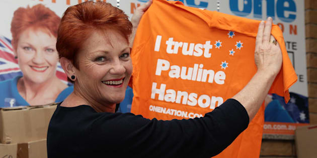 Pauline Hanson has been returned to parliament.