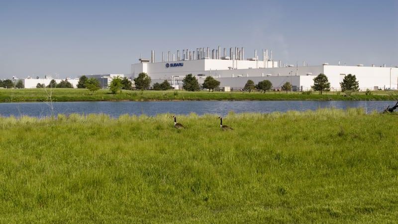 Subaru confirms 3-row crossover for Indiana plant for 2018