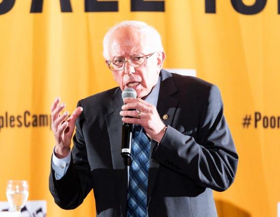 Sanders unveils student debt cancellation plan