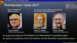 El Nobel de Física para tres científicos que prueban que Einstein tenía