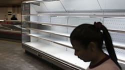 Photos Of Empty Grocery Shelves Show Dire Situation In