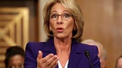 Betsy DeVos confirmada como secretaria de Educación de EU, a pesar de oposición