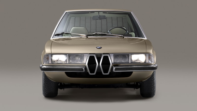 Bmw Garmisch Concept Is A Faithful Re Creation Of The 1970 Concept