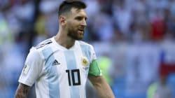 メッシ、年内のアルゼンチン代表の試合を欠場へ ロシアワールドカップ後に混迷深まる