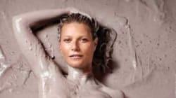 Gwyneth Paltrow topless et recouverte de boue en couverture de son propre