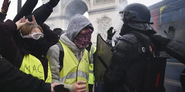 """""""Le spectacle diffusé en boucle des violences commises dans notre pays, particulièrement à Paris lors des deux derniers samedis, nous affecte particulièrement."""""""
