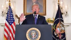 Trump annonce une opération militaire en cours en cours contre la