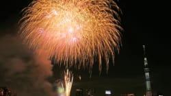 隅田川花火大会、台風12号の影響で7月29日(日)に延期