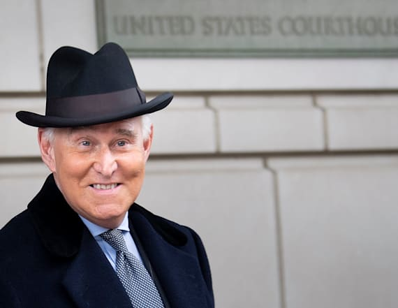 Roger Stone: Sentence is a 'death penalty'