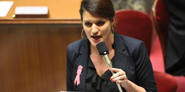 La secrétaire d'Etat chargée de l'égalité entre les femmes et les hommes Marlène Schiappa.