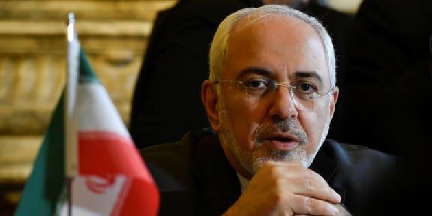 Mohammad Javad Zarif à Bruxelles le 11 janvier 2018.