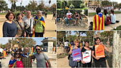Barceloneses, 'paro nacional' y la incógnita de la DUI: