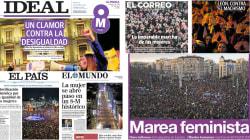 Las portadas del 8M, el día de la revolución