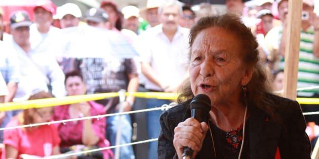 Rosario Ibarra de Piedra.