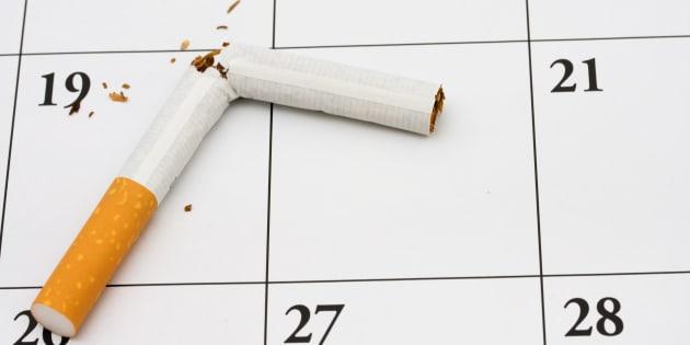 Arrêter de fumer, c'est simple. Ne pas reprendre, beaucoup moins! (illustration)
